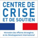 Logo du centre de crise et de soutien du ministère des affaires étrangères et du développement international