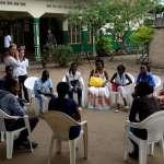 Photo du personnel du Centre MEO Lino Lava au Burundi en séance de formation