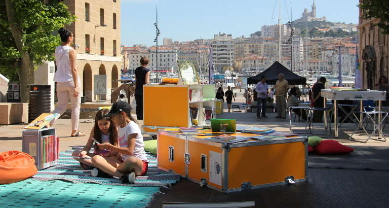Photo de l'Ideas Box à Marseille