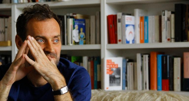 Augustin Trapenard, parrain de Bibliothèques Sans Frontières