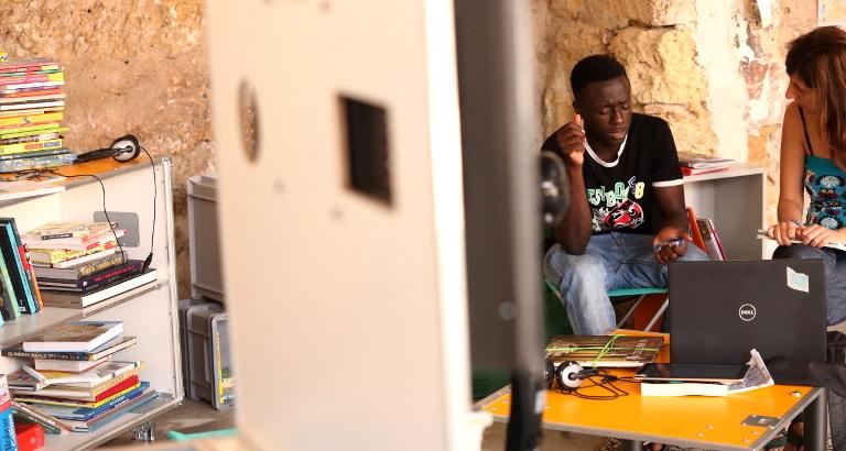 Photographique d'Ousman à Palerme