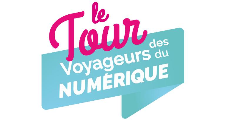 Logo du Tour des Voyageurs du Numérique