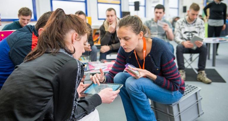 Ideas Box Santé : atelier tablettes