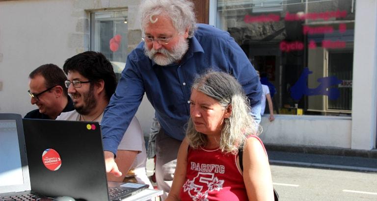 Atelier Voyageurs du Numérique à Guéret