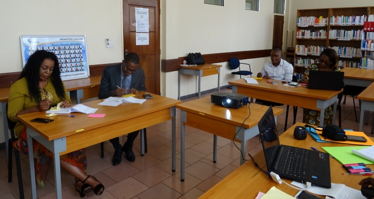 Photo de la formation en RDC