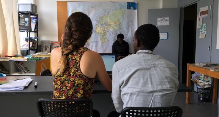 Photo de Nazar au centre d'hebergement d'urgence d'Ivry