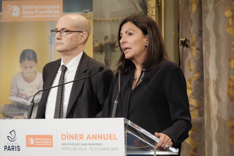 Patrick Weil et Anne Hidalgo