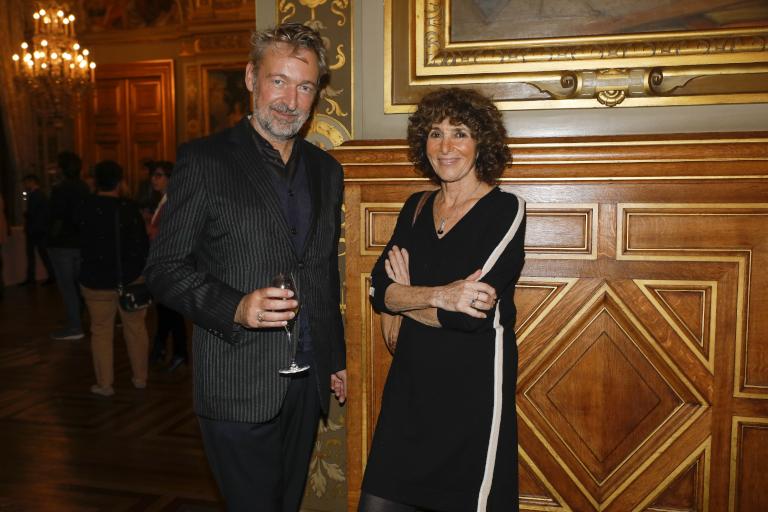 Eric Reinhardt et Geneviève Brisac