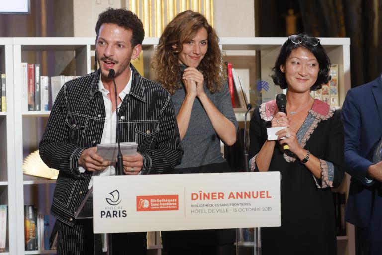 Vincent Dedienne, Doria Tillier et Fleur Pellerin