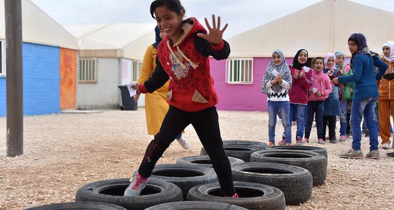 Camp de Zaatari, Jordanie